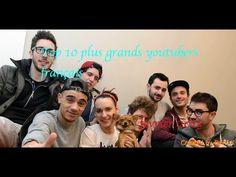 Top 30 des youtubers français. - YouTube