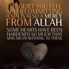 Some hearts have been hardened so much that sins mean nothing to them. This means a lot! In order for you to be forgiven for a sin you must repent, and feel remorse. Many people don't even feel that..