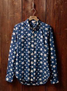 Levi's1960s shirt /  POPSUGAR Shopping: ロングスリーブシャツ/スター