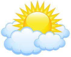 Sun and Clouds Clip Art Cartoon Sun, Cartoon Clouds, Sun Clip Art, Images Of Sun, Sun And Clouds, Safari Theme, Drawing For Kids, Rock Art, Vector Art