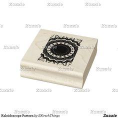 Kaleidoscope Pattern Rubber Stamp