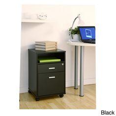 Innovex Granite Black Mobile Filing Cabinet | Granite, Office ...