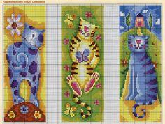by Sandra Duarte: Gatos - Marcadores de Página