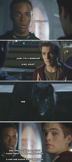 Teen Wolf abridged Mason, Liam & Wolf!Theo