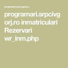 programari.srpcivgorj.ro inmatriculari Rezervari wr_inm.php
