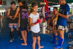 We were so looking forward to visiting Koh Samui so we could attend Jun Muay Thai kickboxing. We had contacted him before we arrived to see if it would be ok for us to do as a family and he said i… 4 Kids, Children, Thai Islands, Koh Samui, Camping With Kids, Kickboxing, Muay Thai, Family Travel, Thailand