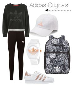 """Adidas Originals"" by eriarai on Polyvore featuring adidas Originals, adidas and Topshop"