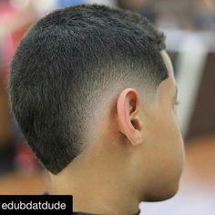 Buzz Cut Hairstyles, Mohawk Hairstyles Men, Haircuts For Men, Boys Fade Haircut, Gents Hair Style, Hair Cutting Techniques, Hair Barber, Shaved Hair Designs, Tapered Haircut