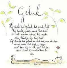 """""""Geluk"""" door Toon Hermans"""