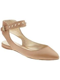 Belle by Sigerson Morrison 'Verita' Flats via Piperlime - $225