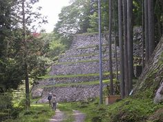 岩村城跡(石垣)