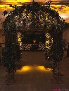 Ivy wrought iron gazebo | #decor #themed #Eventures