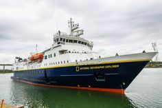 MS National Geographic Explorer Visits ABP Port of Ipswich