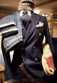 Fall season clothes. I wish we had seasons in the tropics so i could dress up like that!
