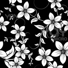 302 best black white images on pinterest in 2018 zentangle floral print mightylinksfo