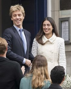 The newly wed Prince Christian of Hanover and Alessandra de Osma, who has been dubbed 'Princess of the Andes' since she and Prince Christian went public with their relationship six years ago.