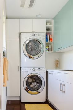 37 Best Cheap IKEA Cabinets Laundry Room Storage Ideas IKEA offers furniture solutions to meet pretty much any need in the house. You won't have the ability to cover the Billy bookcase adequately in 1 coat. Laundry Storage, Room Organization, Closet Storage, Laundry Room Storage, Ikea Cabinets, Stackable Washer And Dryer, Laundry Hacks, Ikea Laundry Room, Room Storage Diy