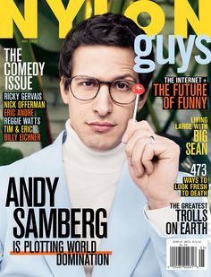 andy samberg barely has time to eat