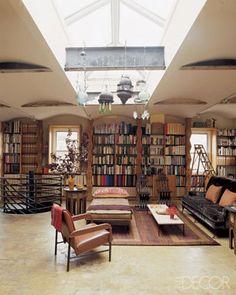 Deliciosa biblioteca.