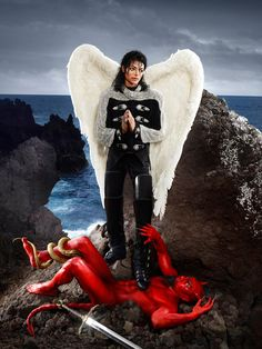 Photographer: David LaChapelle | Model: Michael Jackson