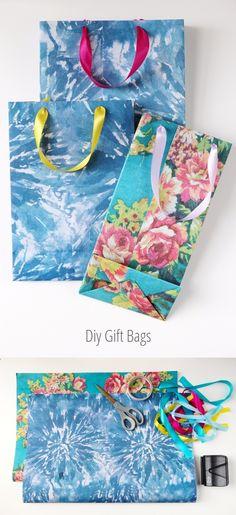 gatheringbeauty.com - Cómo hacer una bolsa de regalo