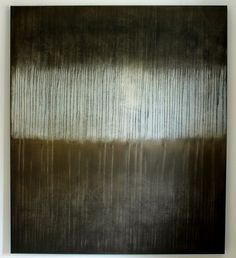 hetart:textured grey in dark paint - 150 x 130 x 4 cm, acrylic on canvas - CHRISTIAN HETZEL
