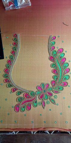 Like hand embroidery Proddatur Like hand embroidery Sardar Khan 85 56 85 52 20 Cutwork Blouse Designs, Best Blouse Designs, Embroidery Neck Designs, Simple Blouse Designs, Stylish Blouse Design, Blouse Neck Designs, Aari Embroidery, Hand Work Blouse Design, Aari Work Blouse