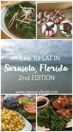 Looking for somewhere to eat in Sarasota, Florida? You're in luck! This area is bursting with delicious local cuisine.
