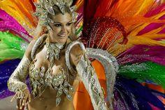 carnival, feathers, costume, celebration, festival, brazil ...