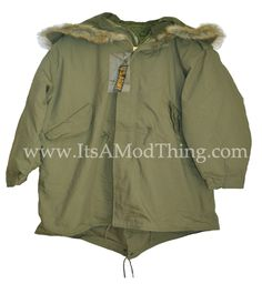 The M51 replica now comes complete with a faux fur hood :) www.itsamodthing.com