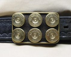 Remington Brass Shotgun Shell Belt Buckle