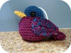 crochet amigurumi birds - Buscar con Google