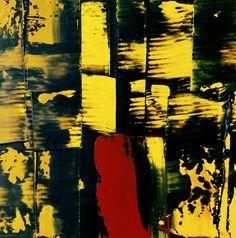 JLMoraisArq, Abstrata, oil on paper 8x8 cm, catálogo: AbstOilPap29317MartiusXVII. estratigráfica: camadas de tinta sobrepostas, aplicadas em bandas verticais e horizontais, esfregadas, borradas e raspadas; acabamento da superfície: textura lisa. Instrumento: espátula.