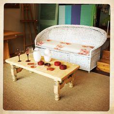 ANOUK offers an eclectic mix of vintage/retro furniture & décor.  Visit us: Instagram: @AnoukFurniture  Facebook: AnoukFurnitureDecor   October 2015, Cape Town, SA. Cane Sofa, Decoration, Bassinet, Cape, Photo And Video, Boho, Facebook, Instagram, Furniture