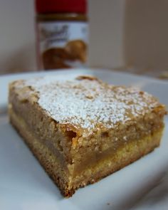 Biscoff Gooey Butter Cake (biscoff is a spread - found it online, but not sure where else you can buy it - can also use Nutella!!!)