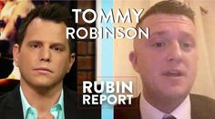 Tommy Robinson and Dave Rubin: Islam, Immigration, and Pegida (Full Inte...