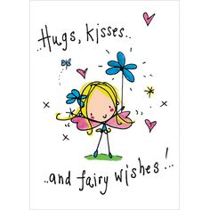Hugs, Kisses and Fairy Wishes! – Juicy Lucy Designs Trade