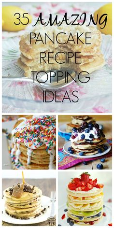 If you need to spruce up your best pancake recipe with some fun and delicious toppings, we've got just the thing!