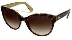 D&G Dolce & Gabbana Women's 0DG4280 Round Sunglasses, Top Havana On Gold, 57 mm - http://todays-shopping.xyz/2016/06/10/dg-dolce-gabbana-womens-0dg4280-round-sunglasses-top-havana-on-gold-57-mm/