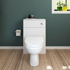 WC Unit Bathroom Vanity Back To Wall Square/Shape Toilet Free Concealed Cistern · $75.68 Toilet Vanity Unit, Vanity Units, Unit Bathroom, Concealed Cistern, Back To Wall Toilets, The Unit, Shape, Modern, Stuff To Buy