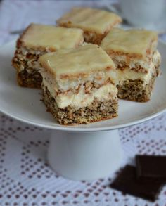 Ciasto Krówka Polish Desserts, Just Desserts, Ukrainian Desserts, Sweet Recipes, Cake Recipes, Traditional Cakes, Breakfast Menu, Homemade Cakes, Dessert Bars