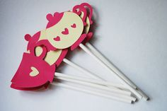 Tea Cup and Tea Pot Cupcake Toppers In Your Choice of Color Qty 12 By Your Little Cupcake