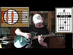 Sitting On The Dock Of The Bay - Otis Redding - Acoustic Guitar Lesson (easy - ish) - YouTube