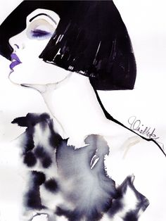 watercolor# fashion# portrait#illustration#fashionillustration#Illustrator#art#painting#hair#face#drawing