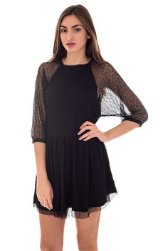 Women's Lace Batwing Dress | Gorgeous Lace Dress | DIZEN