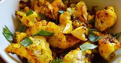 This Roasted Turmeric Cauliflower Is Jam-Packed With Flavor...
