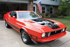 73 Mach 1. Had a 73 Mustang but of the regular variety. Not a Mach.