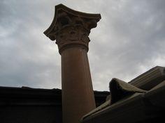 Pier Caps, Porch & Concrete Columns | balustrades & Fencing Aluminum Driveway Gates, Concrete Column, Porch Columns, Fencing, Architecture, Arquitetura, Fences, Architecture Design
