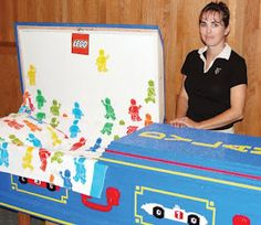 More on the incredible Lego Casket