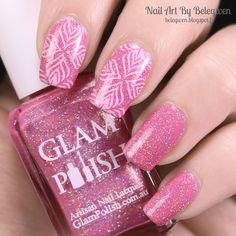 Nail Art By Belegwen: Glam Polish The More You Ruv Someone
